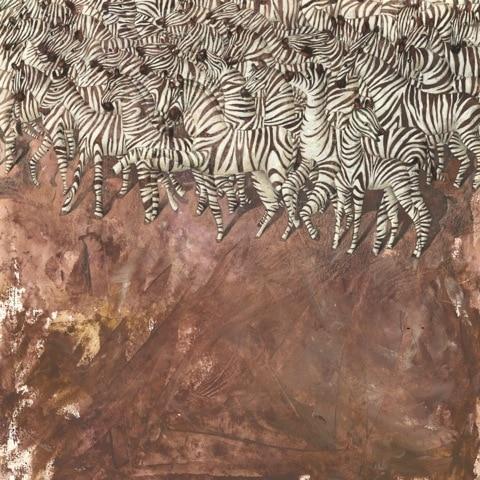 """Print&Painting """"Zebras"""" von Constanze von Kitzing"""
