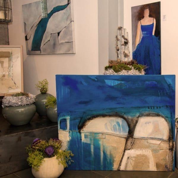 Sabodesign, Bilderstaffelei, Firmenportrait, Malerei, Art