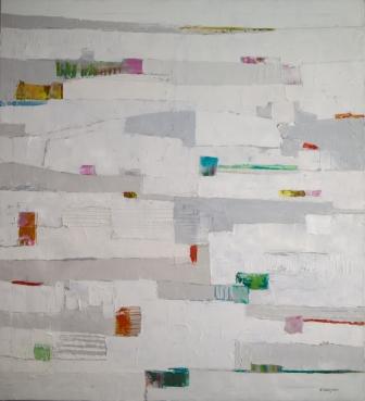 SABODesign, Andrea Ottenjann, 100x100, Leinwand